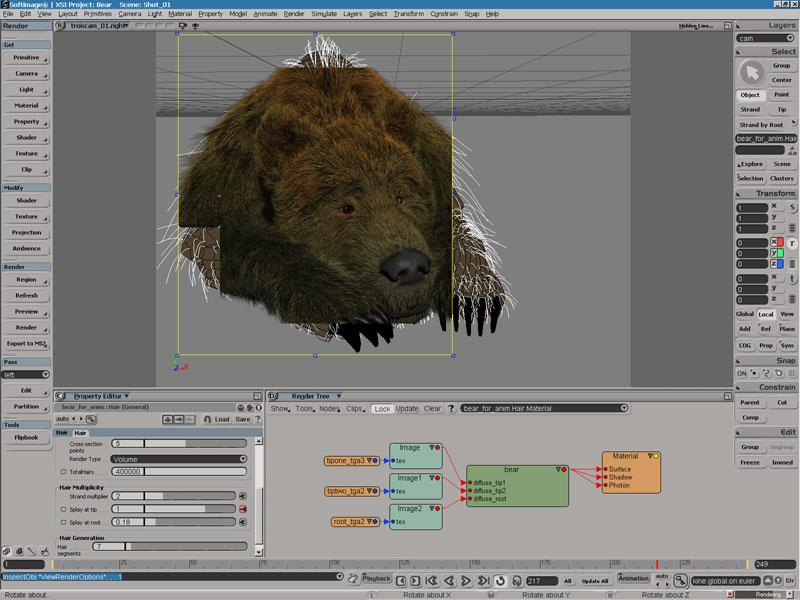 SOFTIMAGE| XSI 3.0 feature rev...