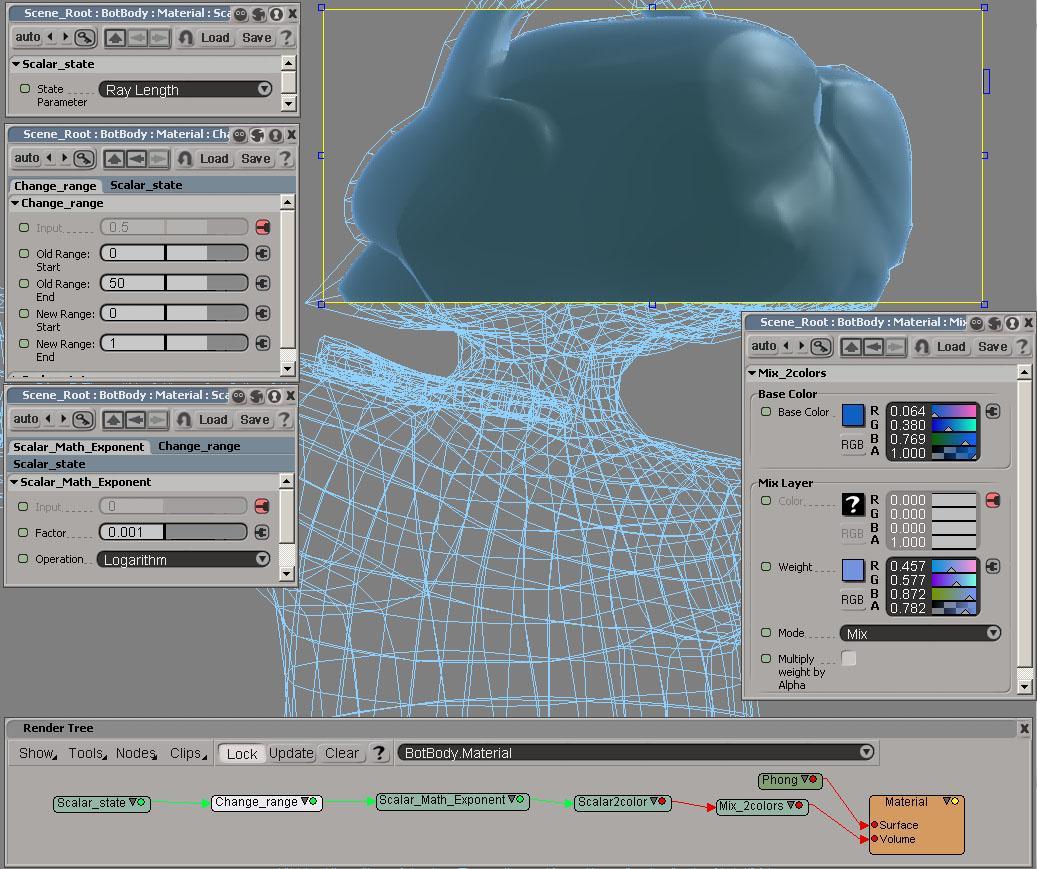 XSI subsurface simulation